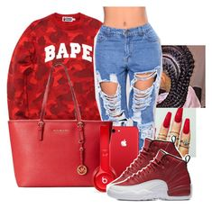 0c461b78c7b by jaysational on Polyvore featuring A BATHING APE