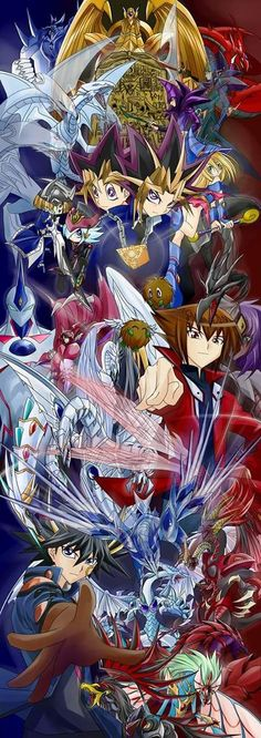 We have Yu-gi-oh vol 1 Yu-gi-oh : Duelist vol. and Yu-gi-oh : GX vol. I Love Anime, All Anime, Anime Art, Anime Stuff, Otaku, Geeks, Yu Gi Oh 5d's, Super Anime, Japon Illustration