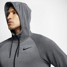 8d92e35465bfe8 Nike Dri-FIT Training Men s Full-Zip Hoodie - Grey