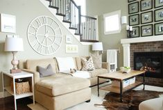 Mourning Dove by Martha Stewart - paint color. Great webite that shows paint colors in real life rooms!