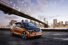 BMW i3 Electric Car -- 170 horsepower, 100 miles per charge, the ultimate city vehicle.
