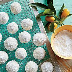 Lemon Meltaways  Quick, Easy & Delish 3/4 cup plus 2 Tbsp. butter, softened 1 1/2 cups powdered sugar, divided 1 tablespoon lemon zest 2 tablespoons fresh lemon juice 1 1/2 cups all-purpose flour 1/4 cup cornstarch 1/4 teaspoon table salt