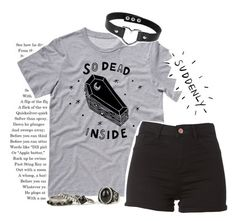 """☯Why do you talk so loud?☯"" by fangirl-trash ❤ liked on Polyvore"