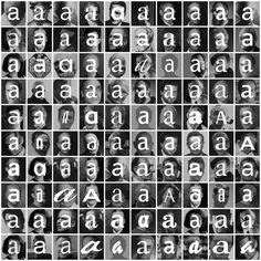 hidden behind theire typfaces