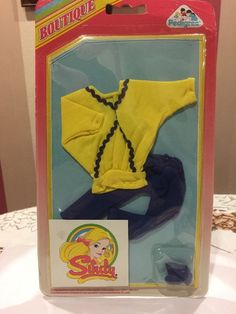 Pedigree Boutique 1986 Sindy Jumper, Trousers & Peep Toe Mules - New On Card 20+2.25
