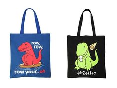 T-Rex's Arms Are Too Short To Carry These Cute Totes - Hilarious!