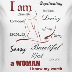 Womans Worth Beautiful Women Quotes Memories Self Esteem Relationships