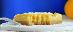 healthy lemon squares - could make these GF too by changing the flour