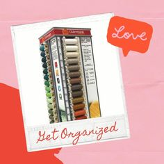 Time to #getorganized! 80 spools of Sew-All thread, all in one place. Exclusive offer for September: Save $10 on this rotating organizer by using SAVE10 promo code at checkout! Shop the deal by clicking on the link! Thread Organization, Home Organization, September Crafts, White Laminate, Wood Construction, Footprint, Getting Organized, Presentation, Coding