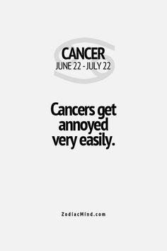 #Annoyed #VeryEasily #Cancer♋️