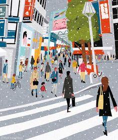 Ryo Takemasa: Cover illustration for Quarterly Magazine Musashino Abstract Illustration, Gravure Illustration, Japanese Illustration, Children's Book Illustration, Graphic Design Illustration, Makeup Illustration, Magazine Illustration, Design Graphique, Art Graphique