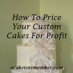 The only cake pricing guide you'll need to be able to figure out how to price your custom cakes the right way. Includes worksheets and exercises for any custom cake business owner to learn how to take alle xpenses into account and make a profit Baking Business, Cake Business, Business Advice, Business Planning, Cake Pricing, Home Bakery, Just Cakes, Cake Decorating Tips, Cake Tutorial