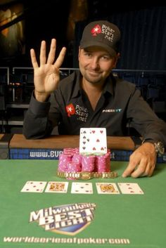 Poker player Daniel Negreanu had a cameo in 'X-Men Origins:  Wolverine.'