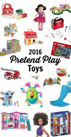 Pretend Play Gifts for Kids 2016 Baby Toys, Kids Toys, Projects For Kids, Crafts For Kids, Imagination Toys, Book Reviews For Kids, Cool Gifts For Kids, Gifted Kids, Unique Birthday Gifts