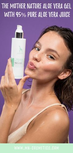 The Mother Nature Aloe Vera Gel with pure Aloe Vera juice provides dry and stressed skin soothing moisture. Pure Aloe Vera Juice, Aloe Vera Gel, Organic Face Products, Pure Products, Healthy Oils, Organic Beauty, Clear Skin, Good Skin, Skin Care Tips
