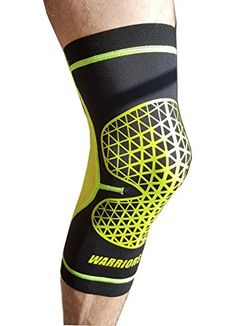 00ad581de3 Warriors Elite Neoprene Knee Brace Breathable Fit Compression Knee Support  Perfect for Running Athletics Arthritis Jogging Hiking Sports Recovery and  Relief ...