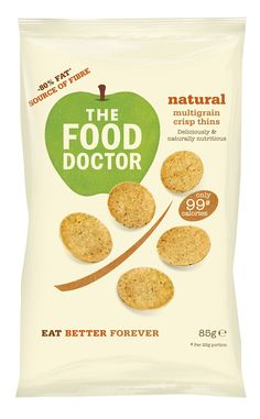 Packaging of the World: Creative Package Design Archive and Gallery: The Food Doctor Wholesome Crisps