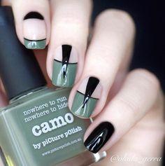 piCture pOlish = Vladislava aka @vlada_gerra wearing 'Camo' ❤️❤️❤️ thank you :) www.picturepolish.com.au