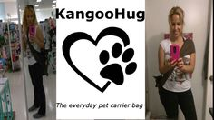 KangooHug is the perfect pet carrier for everyday things. When you're not using it you just fold it and put it in your purse or pocket.
