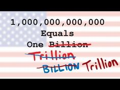 How big is a billion?