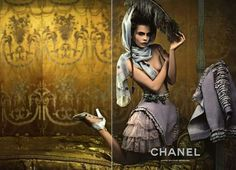 The Chanel Resort 2013 Campaign Stars a Sultry Cara Delevingne #photography trendhunter.com