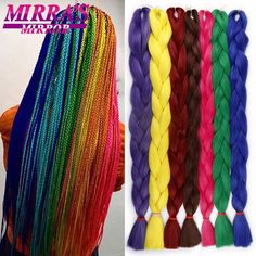 Hair Braids Spirited Razeal 24 165g Jumbo Braids Braiding Hair Kanekalon Braiding Hair Pure Color Synthetic Hair Extensions Crochet Braids 1 Pack