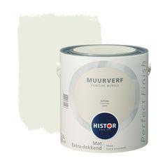 """Muurverf """"schelp""""van Histor"""