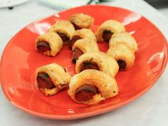 Get Puff Pastry-Wrapped Chorizo Recipe from Food Network