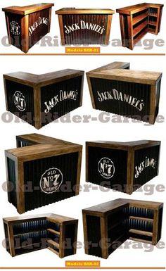 Barra Bar Arrime 100x49x100cm Madera Reciclada Mostrador B03 - $ 8.999,00