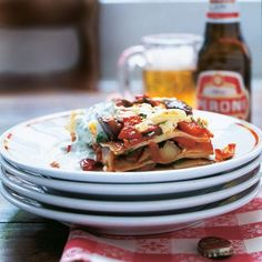 Rezept Auberginen-Lasagne