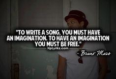 Bruno Mars quote Check www.mandiriecash.co.id for Jakart Bruno Mars Concert info.