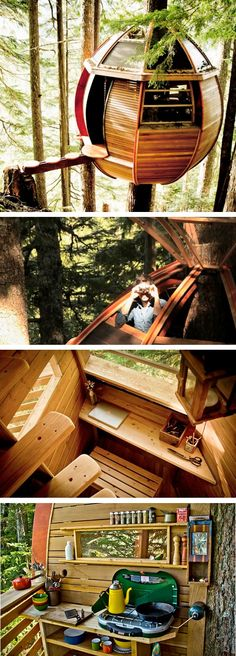 HemLoft - the secret treehouse built on the sly in a mystery location