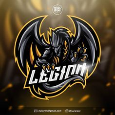 458 Likes, 9 Comments - Nuraroni studio Logo Esport, Art Logo, Team Logo Design, Brand Identity Design, Branding Design, Corporate Branding, Gaming Logo, Logo Dragon, Mobile Logo