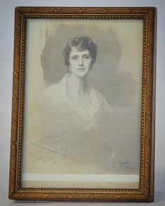 LOT 607: An attractive drawing of Princess Alice of Battenberg signed and dated 1923. Est. 100 - 150. In our #CHRISTMAS #Silver #Jewellery #Watches #Collectables #Pictures and #Furniture #Auction #December8 #whittonsauctions #Honiton #pin In conjunction with the #BBC who will be filming #BargainHunt