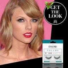 Get the 'Taylor Switft' look met de Eylure Volume lashes # 101