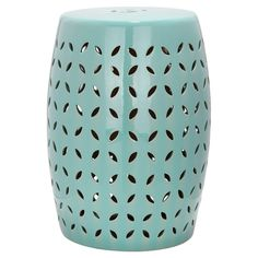 A ceramic stool/table like this would really look nice in the front of our house.