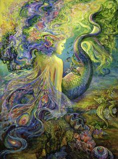 Mermaid by Josephine Wall