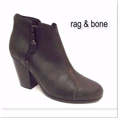 I just discovered this while shopping on Poshmark: New RAG & BONE size 40 Double .... Check it out!  Size: 9, listed by heel_to_toe