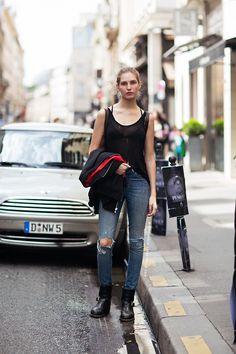 Kelsey Van Mook  Model off Duty STOCKHOLMSTREETSTYLE   17 AUG 2013 21:00   BY DANIEL & CAROLINE