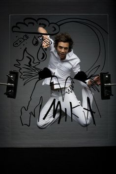 Mika 2009 Observer Music Monthly photoshoot