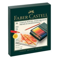Faber Castell Polychromos Finest Artist Pencil Gift Box Set of 36 Pencils Faber Castell Polychromos 36, Creative Studio, Color Plomo, Artist Pencils, Coloured Pencils, Marker Pen, Art Graphique, Free Coloring, Vibrant Colors