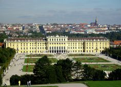 Schonbrunn Palace, Vienna.  Following the downfall of the monarchy in 1918 the newly founded Austrian Republic became the owner of Schönbrunn Palace and preserved, as a museum, the rooms and chambers.