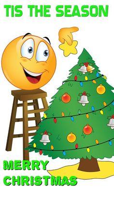 26 Best Emoji Christmas Cards images