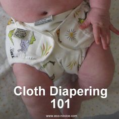 Everything Eco-novice Knows About Cloth Diapers