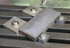 Low Profile Worktable Clamps, using