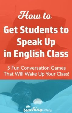 Want to get your students to speak up in English class? Do you teach ESL and have a hard time getting students to speak? Speaking lesson plans are inside! These 5 fun ways to teach speaking will add energy and excitement to your class. Check them out by c
