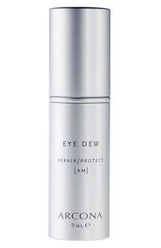 ARCONA 'Eye Dew' Anti Aging Formula | Nordstrom | $38 for .3 oz | put under eyes at night along with moisturizer (Barefoot Blonde blog)