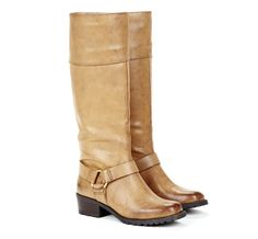 Brown Riding Style Boots.