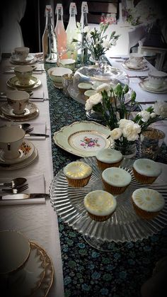 Oh So Sweet Occasions vintage tea party - The Spectacular Vintage Wedding Fair at the Lyrath Estate Hotel, Kilkenny. Vintage China, Vintage Tea, Wedding Fair, Tea Party, Vintage Inspired, Table Settings, Party Ideas, Sweet, Facebook