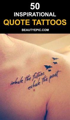 Quote Tattoos Designs